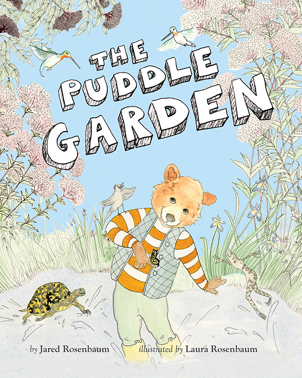 Children's Book, The Puddle Garden, 2015