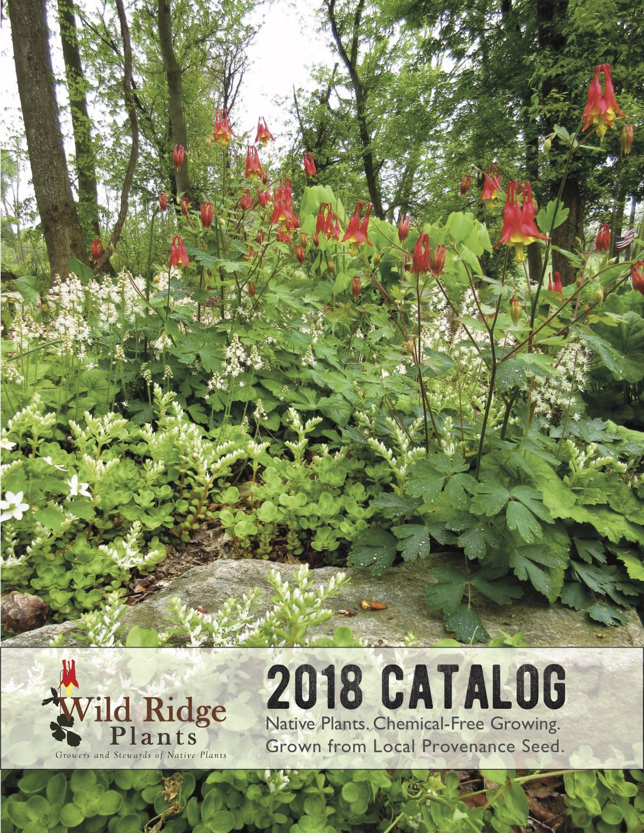 2018 Native Plant Catalog